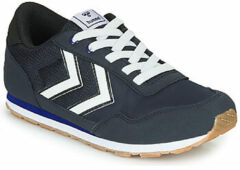 Blauwe Hummel Reflex JR Sneakers - Blue Nights - Maat 35