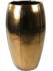 Gouden Ter Steege Moda pot high 43x43x74 cm Gold bloempot