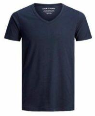 Marineblauwe JACK & JONES T-shirt marine