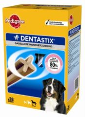 Pedigree DentaStix - Maxi - Hondensnacks - 4 x (4 x 7 stuks)