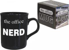 Zwarte ALOALO The office mug - tas - mok - The office Nerd - 320 ml