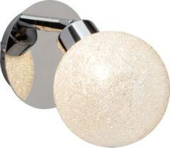 Brilliant Pacome LED Wandspot chrom/weiß