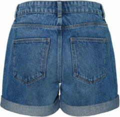 NOISY MAY slim fit short blauw