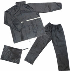 Dresco - Regenpak - Maat XL - Zwart