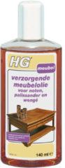 HG verzorgende meubelolie voor noten, pallisander en wengé 140 ml