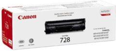 Zwarte Canon CRG728 - Tonercartridge / Zwart