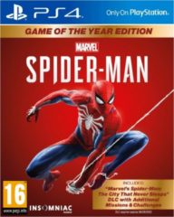 Sony Interactive Entertainment Marvel's Spider-Man - PS4 - Game of the Year edition