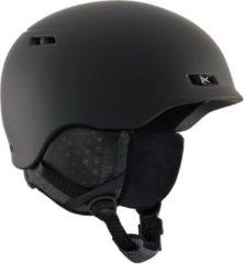 Zwarte Anon Rodan Skihelm Heren - Black - Maat XL