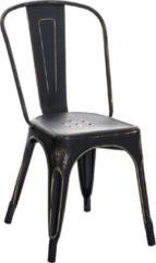Clp Benedikt - Bezoekersstoel - antiek, zwart-goud