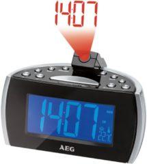 AEG Uhrenradio mit Projektion der Uhrzeit & Raumtemperatur »MRC 4119 P N«