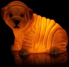 """Flambiance LED-Hundewelpe """"Fritzi"""""""