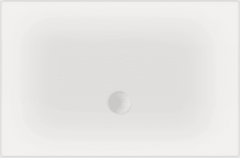Witte Beterbad Xenz Luxe zelfdragende douchevloer Flat 120 x 100 x 3,5 cm
