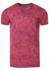 Bordeauxrode T-shirt - heren - Rusty Neal - Bordeaux - 15283