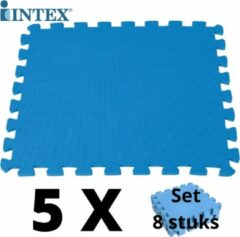 Blauwe Merkloos / Sans marque 40 tegels