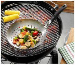 Gemüse-Wok BBQ mit abnehmbarem Griff GEFU Edelstahl