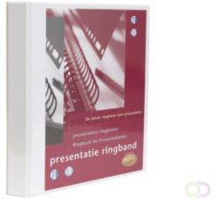 Multo personaliseerbare ringmap, ft A4, 23 O-ringen van 32 mm, wit