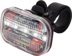 Witte Merkloos / Sans marque Led-Fietskoplamp - 5 Multifunctionele Ledlampjes - Inclusief Batterijen