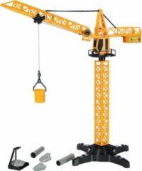 Huismerk Speelgoed - Hijskraan Met afstandsbediening Oranje 55cm