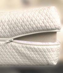 Witte MatrasDirect Luxe Matrashoes met Rits - 70x190 - 14-15cm kern