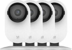 YI Technology Yi Smart Home 1080P IP Camera (Official EU Edition) - Wit - 4 Stuks