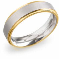 Zilveren Boccia Titanium 0134.0568 Unisex Ring 21.50 mm maat 68