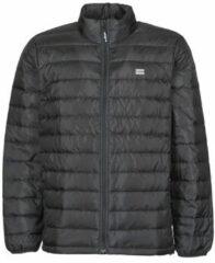 Zwarte Levi's Lichtgewicht gewatteerde jas met donsvulling