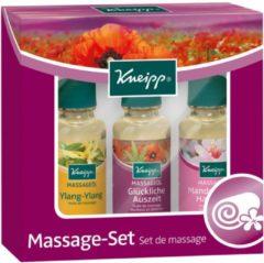 Kneipp Pflege Haut- & Massageöle Massage-Set Massageöl Ylang-Ylang 20 ml + Massageöl Glückliche Auszeit 20 ml + Massageöl Mandelblüten Hautzart 20 ml