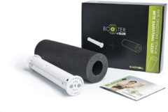 Blackroll Booster Massageapparaat voor Punctuele massage incl. gratis Slim Foam Roller - Wit