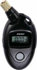 Zwarte BBB cycling BBB BMP-90 PressureGauge Bandendrukmeter - Digitaal - 11 Bar - Presta/Schrader ventiel