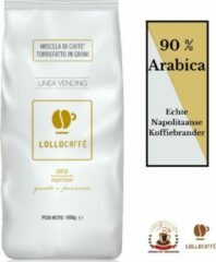 Lollo Caffè Oro (1kg) - Italiaanse Koffiebonen - 90 % Arabica, zoet en verteerbaar - Uit Napels