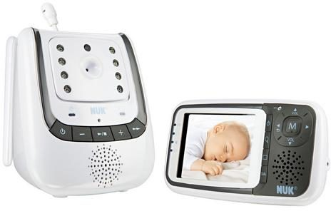 Afbeelding van Videobabyfoon Digitaal NUK 10256296 NUK Babyphone ECO Control+Video 2.4 GHz
