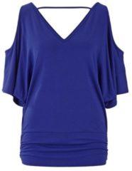 Blauwe T-shirt