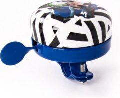 Blauwe BiggDesign Natuur Koning van de Jungle Fietsbel Speciaal ontwerp, toepasselijk voor 19-22 mm handvaten