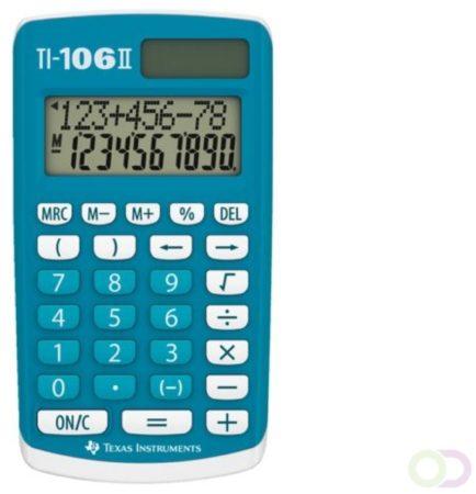 Afbeelding van Texas Instruments 106IIFBL4E6 TI106 II 4 Function Calculator