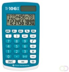 Texas Instruments 106IIFBL4E6 TI106 II 4 Function Calculator