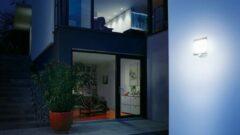 Antraciet-grijze Steinel L 20 wandlamp met bewegingssensor ST 035693 Antraciet