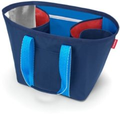 Marineblauwe Reisenthel Re-Shopper 1 Boodschappentas - Shopper - Recycled materiaal PET - 25L - Navy Blauw