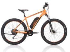 Fischer Bike FISCHER e-bike MOUNTAINBIKE EM 1723, 27,5 Zoll, Hinterradmotor 48V/557Wh und Shimano Deore-Schaltwerk orange