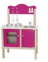 Simply for kids New Classic Toys - Houten Keuken - Roze