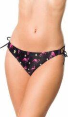 Belsira Bikinibroekje -M- 50195 Zwart/Roze
