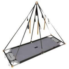 Grijze Black Diamond - Single Portaledge maat 213 x 80 cm, gray