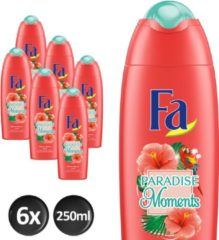 Fa Paradise Moments Douchegel - 6 x 250ml - voordeelverpakking