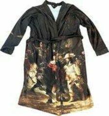 Art badjassen Badjas met Nachtwacht opdruk – Vrouw – Bathrobe – Maat S