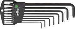 LegaMaster Wiha Stiftsleutelset in Classic houder TORX® kogelkop 8-delig chemisch gezwart (32394)