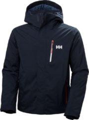 Marineblauwe Helly Hansen Bonanza Wintersportjas - Maat XL - Mannen - navy