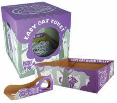 Wooper Easy Cat Wegwerp Kattenbak Pakket