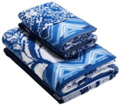 Desigual - unisex - Badehandtuch - Think In Blue - Think In Blue - Size Pack 50x100 + 30x50