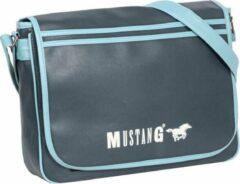 Mustang ® Milan Schoudertas - Waterafstotend - Crossbodytas - Blauw