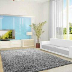 Licht-grijze Adana Carpets Flycarpets Vloerkleed - 80x150 cm - Lichtgrijs