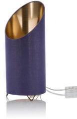 Lumesso Design-Lampe mit Flammenleuchtmittel, EEK: A+